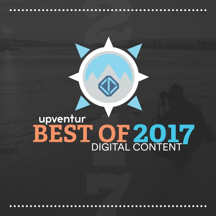 Case of the Nomads Named Best of 2017 Digital Content by Upventur -