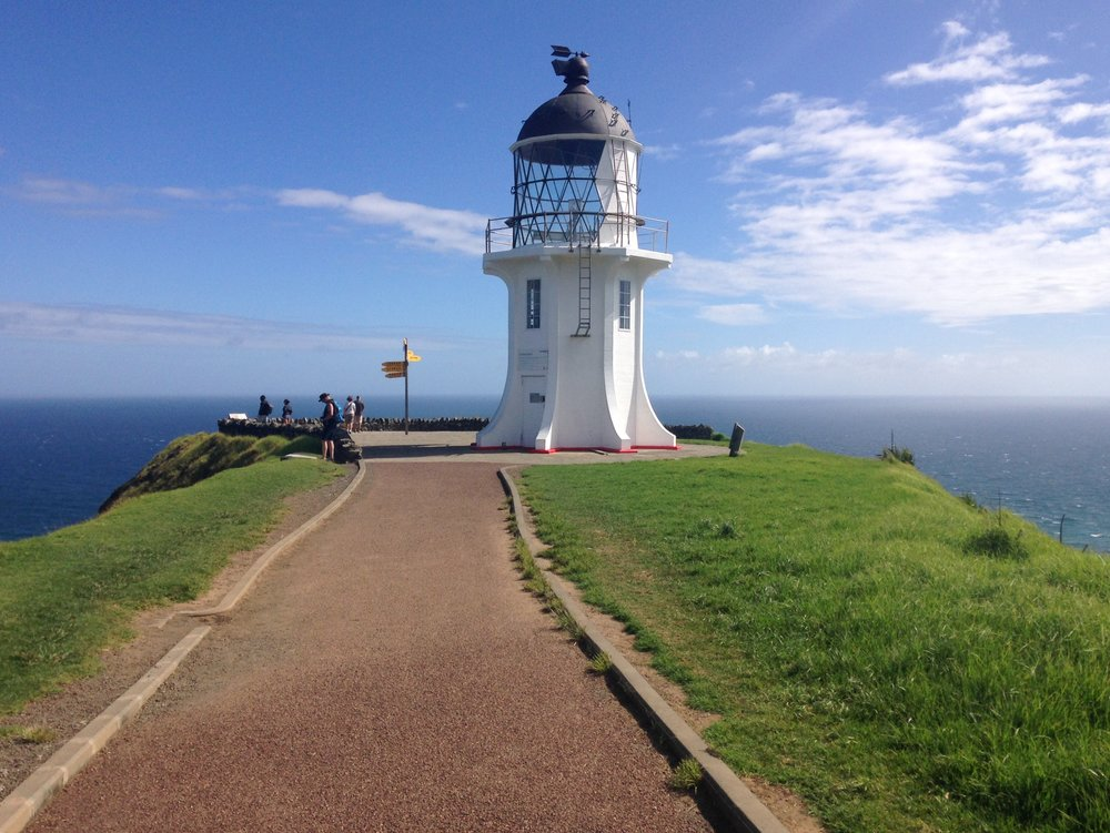 Cape Reinga, The start of Tour Aotearoa