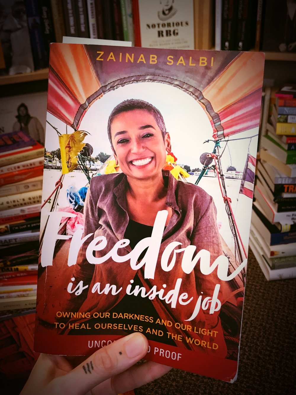 Freedom is an inside job by Zainab Salbi