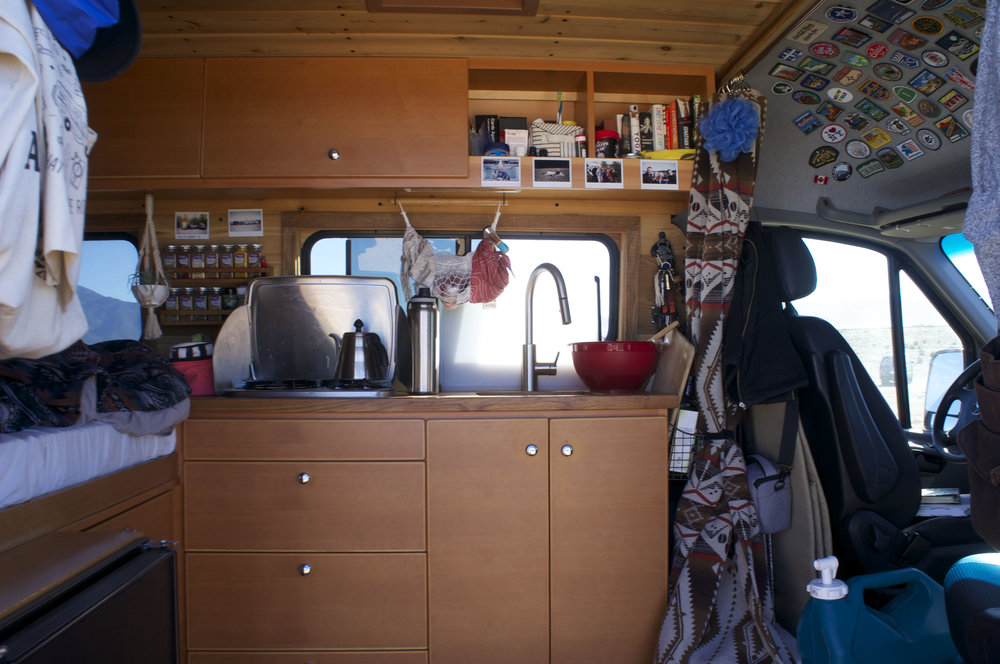inside a sprinter at gathering.jpg