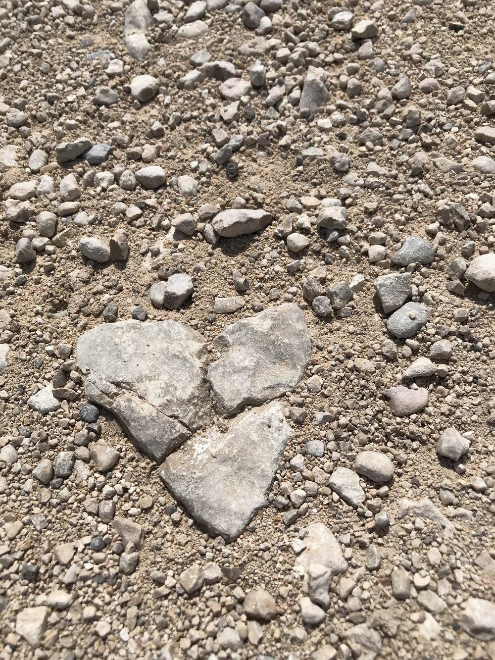 heart rock texas 1st stop.JPG
