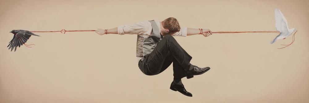 """Proelium"" from the Relativity Series by Alex Hall -  http://www.alexhallart.com"