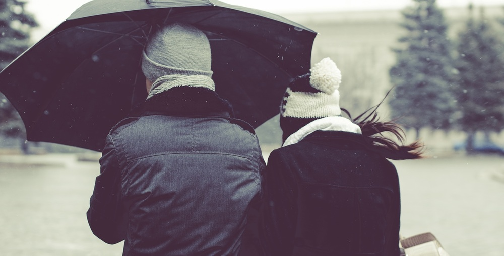 Winter Umbrellas