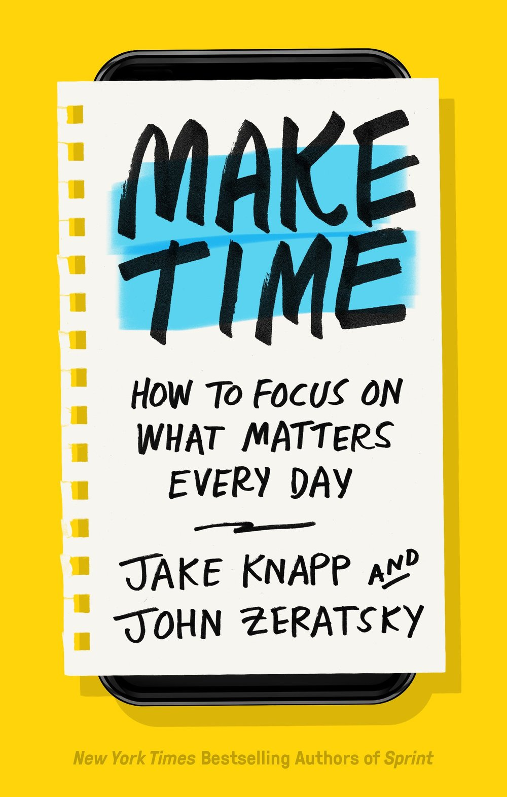 Make Time Jake Knapp Book Notes