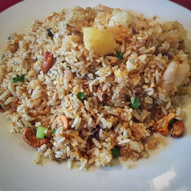 Come in and try our Pineapple Fried Rice with Shrimp today! #waiwai #waiwaitp #waiwaiop #overlandpark #kansascity #kansas #kc #ks #food #foodporn #foodkc #instafood #instakc