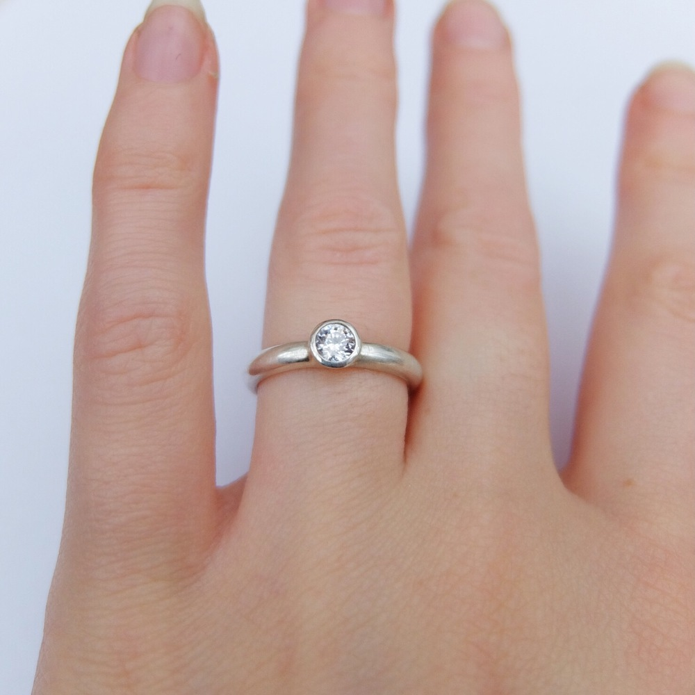 Handmade Silver Wedding Rings Uk | Wedding