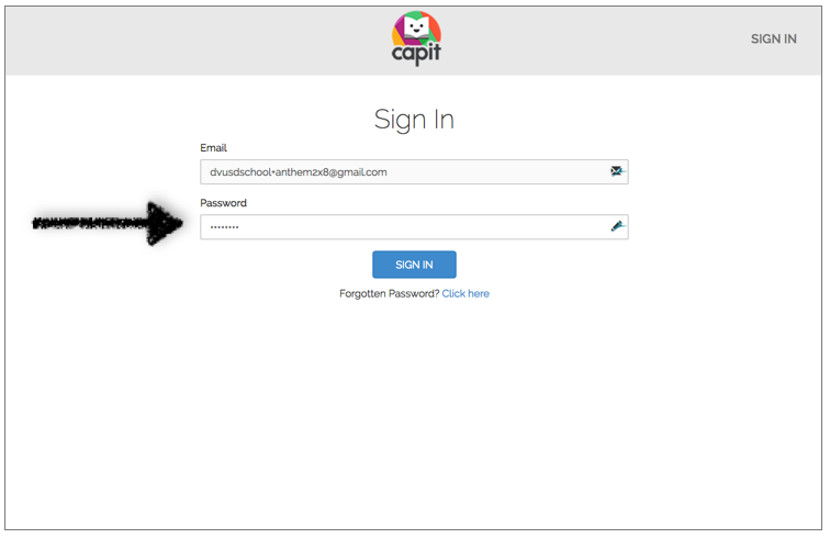 Enter your password to sign into the Teacher Portal. - Your account is now active.