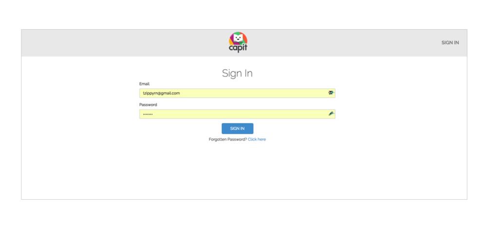 Sign into the Teacher Portal. -