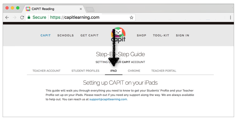 Need to set up CAPIT on your iPads? - Follow our Step-By-Step Guide to Setting up CAPIT on your iPads