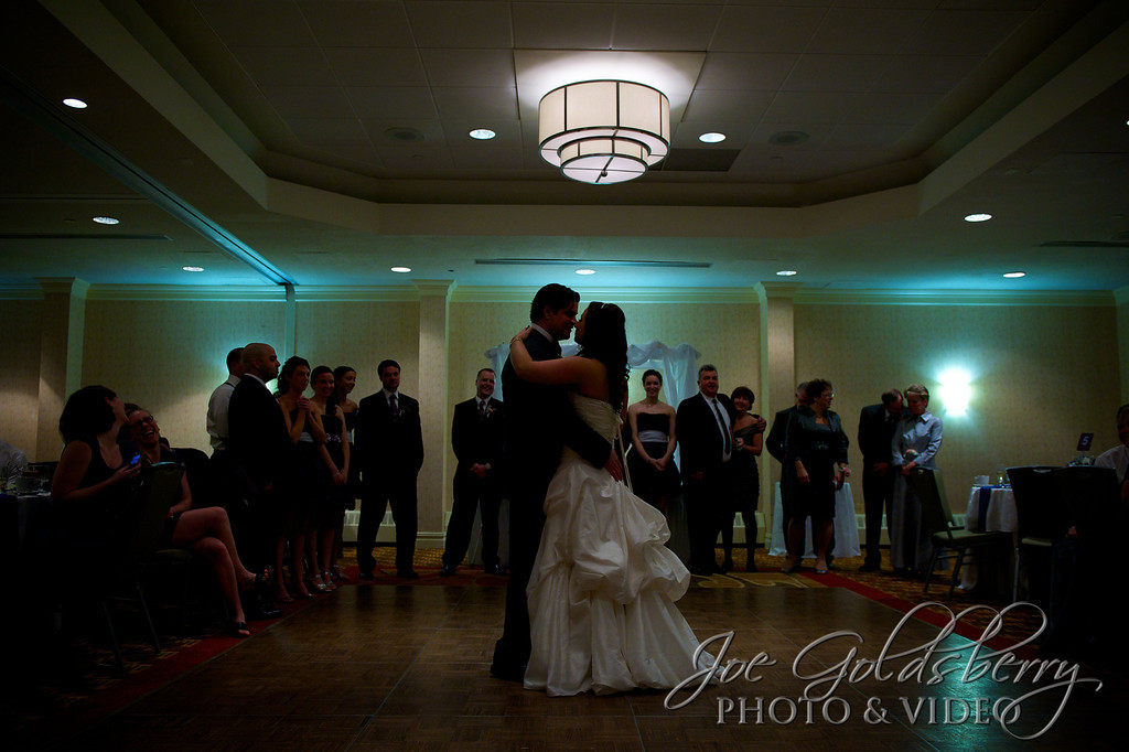 Uplighting always adds a little extra something to the first dance.