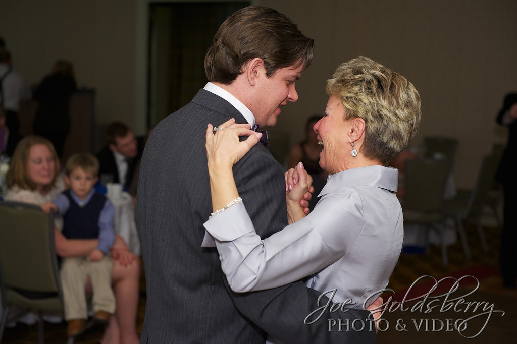 Chris and his mom shared smiles, laughs and maybe some tears during their dance.