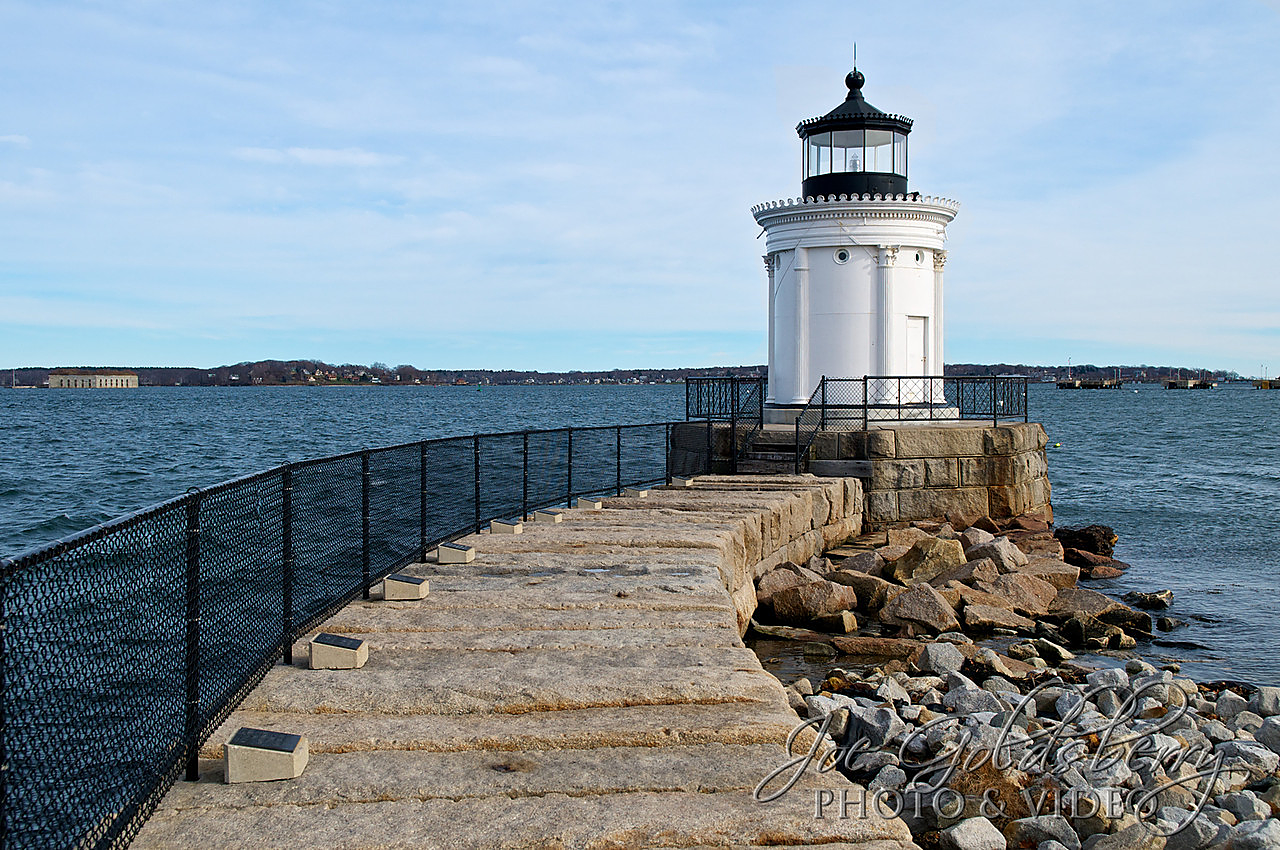 "Portland Breakwater Lightouse, affectionately called Bug Light, is my favorite ""walk up"" lighthouse."