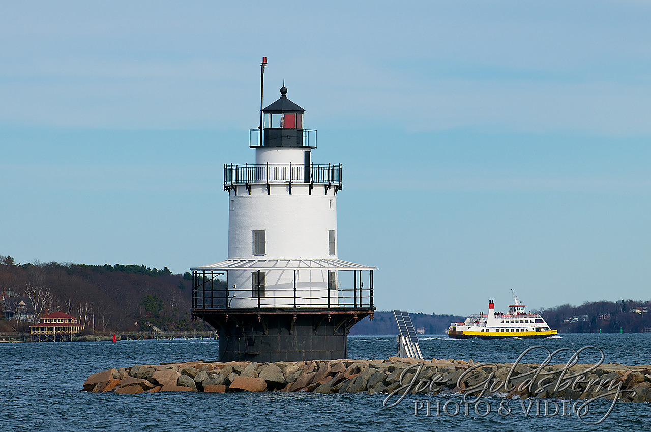 Spring Point Ledge Lighthouse in Portland, Maine started public tours in June 2013. Be sure to try to see her upclose and personal if you're in the area!