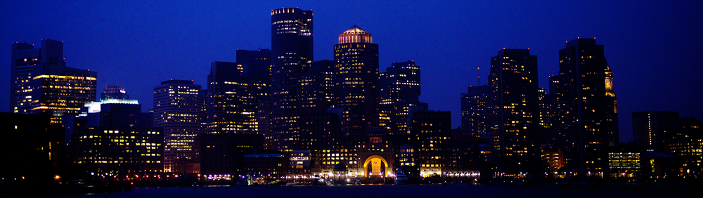 Downtown Boston Night