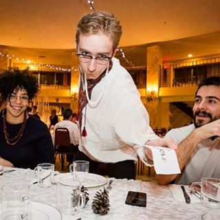 We're serving up some great programming tomorrow at #Kosamelanka! Make sure to swing by between 6-7pm for cocktail, followed by a generous holiday meal with toasts and songs from 7-9pm and soon after our #zabava / dance starts at 9pm! *please note that it's a cash bar and there's no ATM on site! See you all tomorrow! Photo by @garateca #melanka #malanka #torontoukrainian #folk #folkevent
