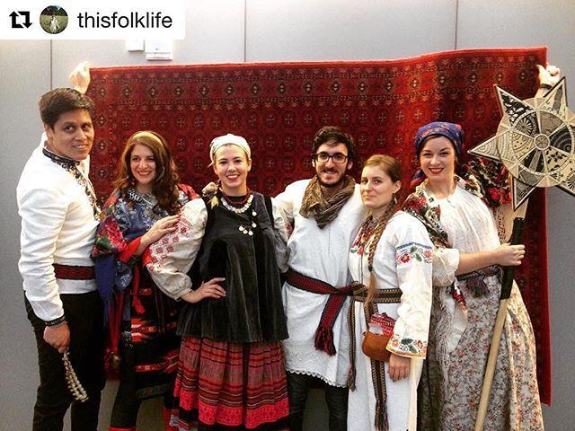 Our amazing #kosakoliadnyky at @agakhanmuseum today! Thanks for spreading the folk spirit you beautiful people! . . . #folktraditions #kosakolektiv #ukrainianchristmas #різдво #колядники #koliadacampaign #koliada #koledy #koljada #folkcamp