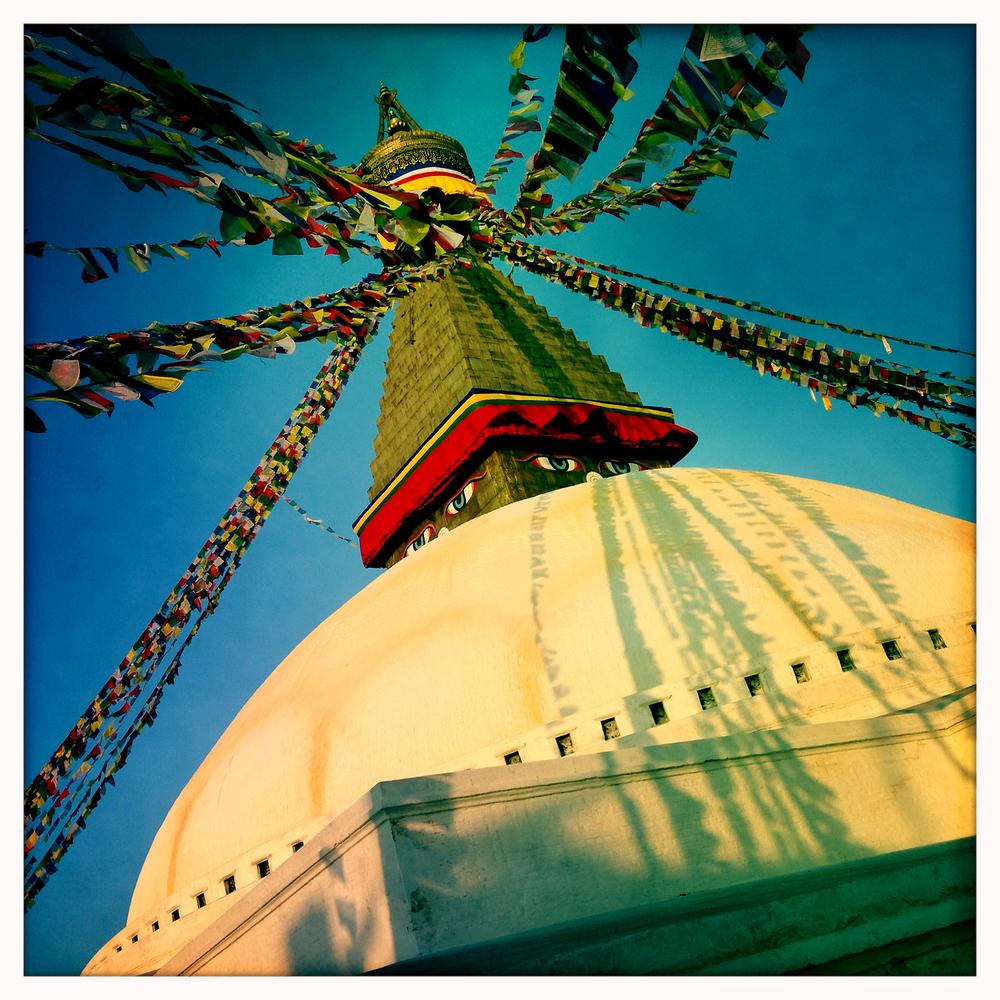 Great Stupa, Kathmandu, Nepal