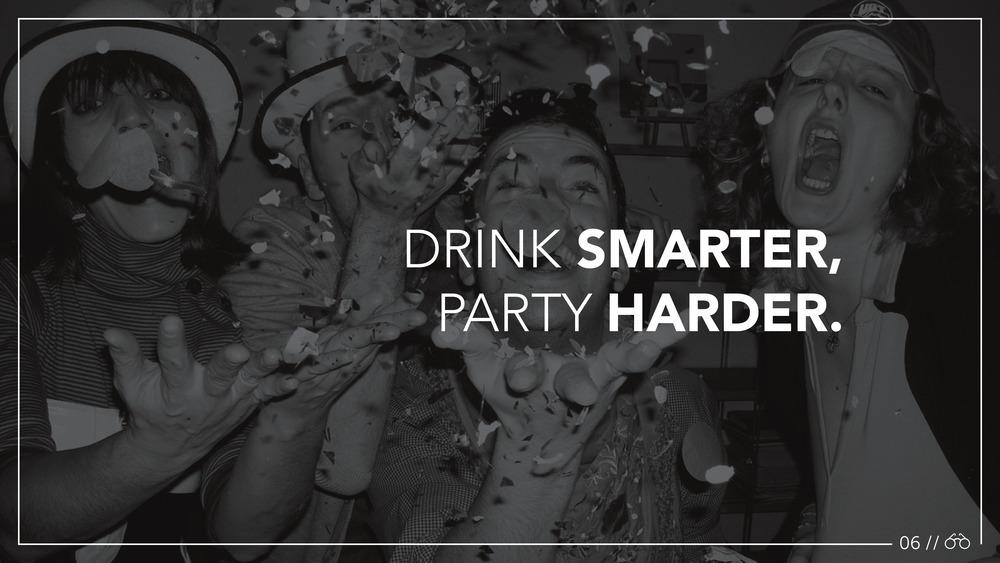 College Binge Drinking - Student Work