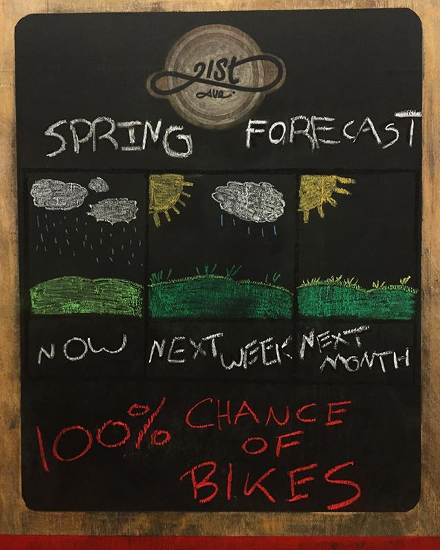 Spring sale is on till Saturday! Grab a deal on a bike for a future sunny day! 🌞🌱🌻💐💦🍄