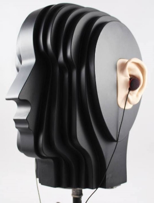 Sandman John head. A set of DPA 4061's in the ear canal produce a great recording.