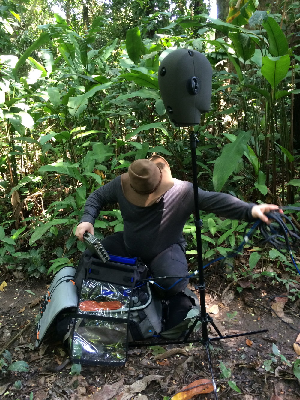 Recording in the Amazon Rainforest