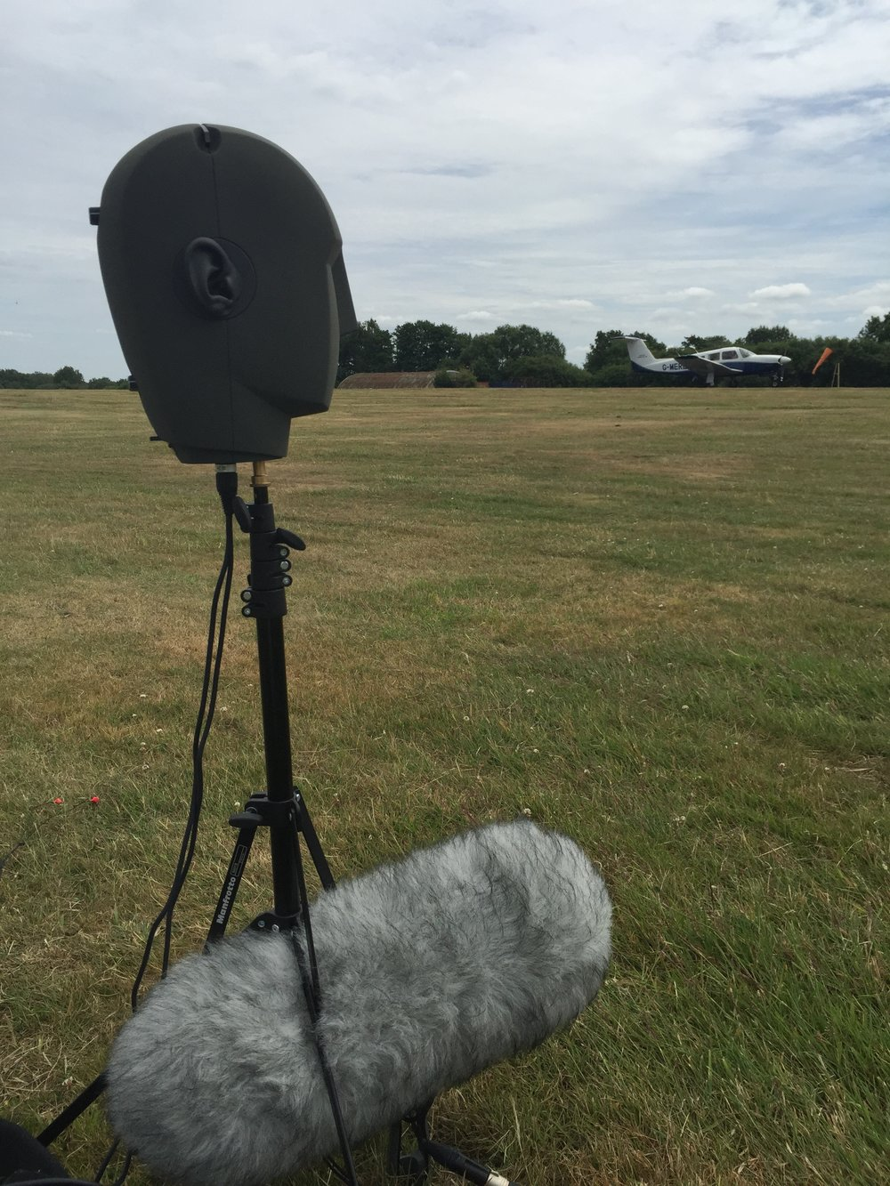 Recording Cessna fly-bys