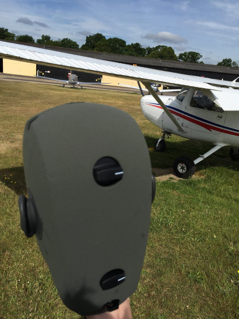 Recording a Cessna