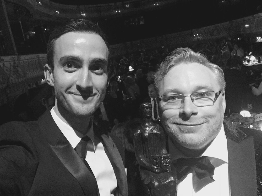 Evening Standard Theatre Awards: Pete Malkin and Gareth Fry