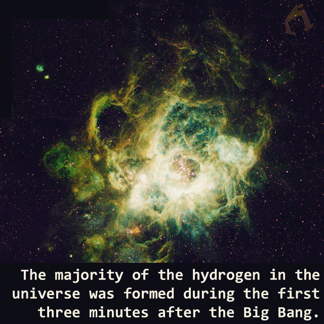 Big bang hydrogen! #STEM #science #astronomy #matter #hydrogen #bigbang #space