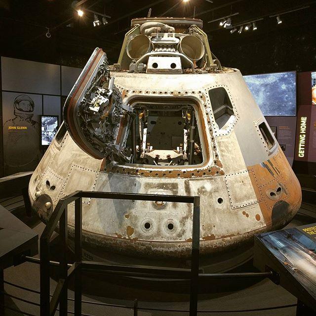 #Space capsule, baby.