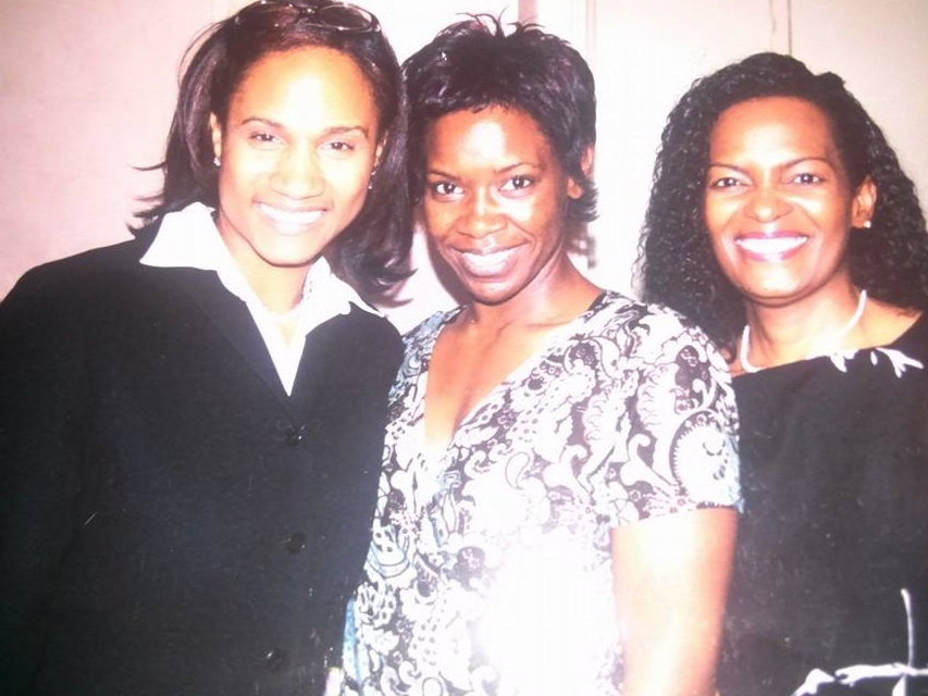 My cousins and I after my first sermon at Wheeler Avenue Baptist Church in 2004.