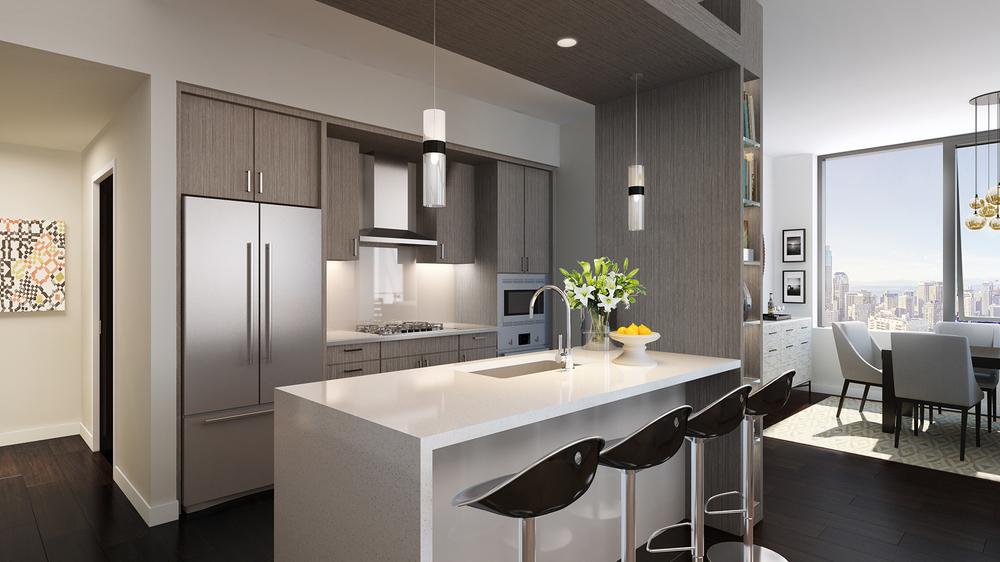 Luma Condominium Kitch View | Virtual Visualization