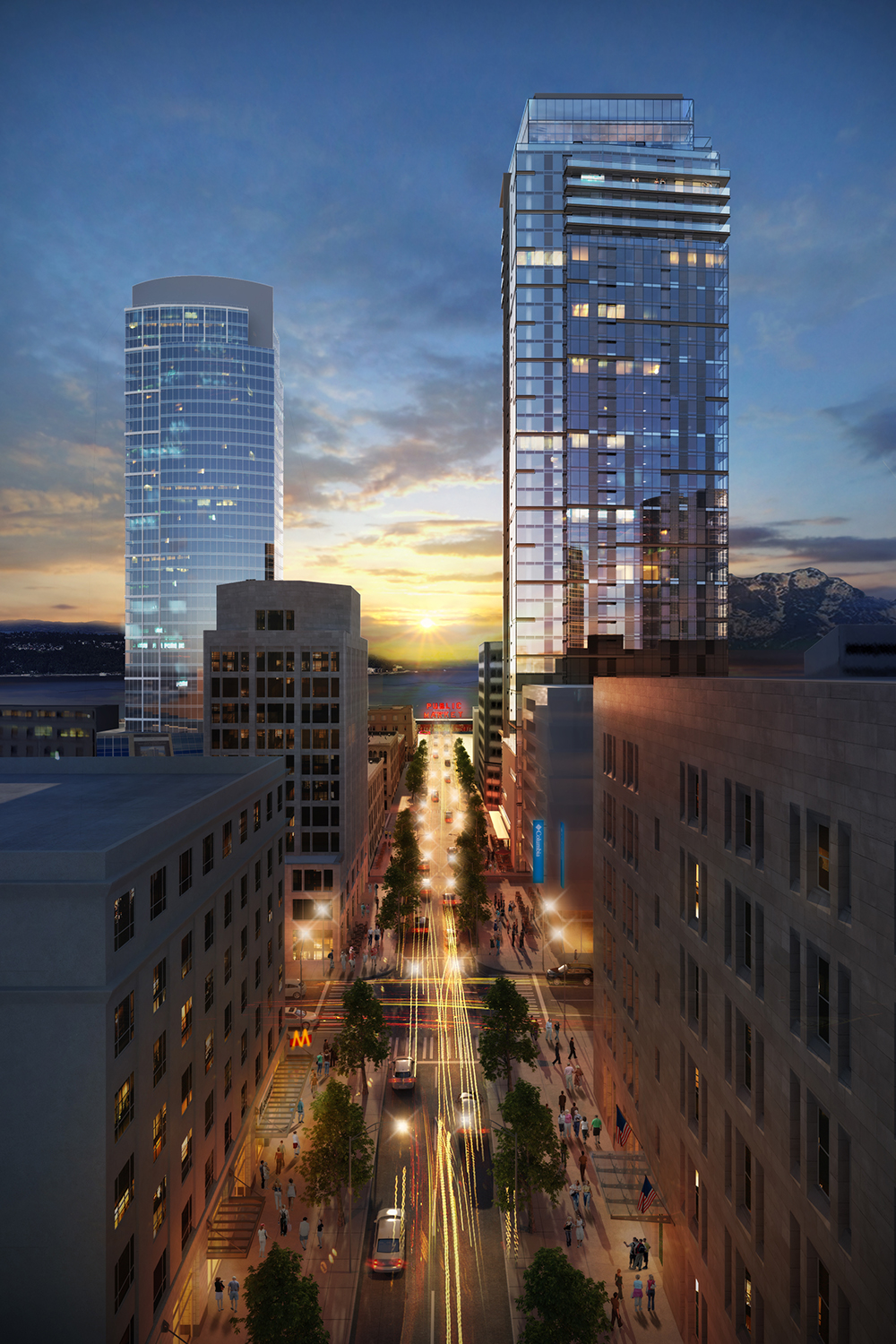 Studio216 Rendering of 2nd and Pine