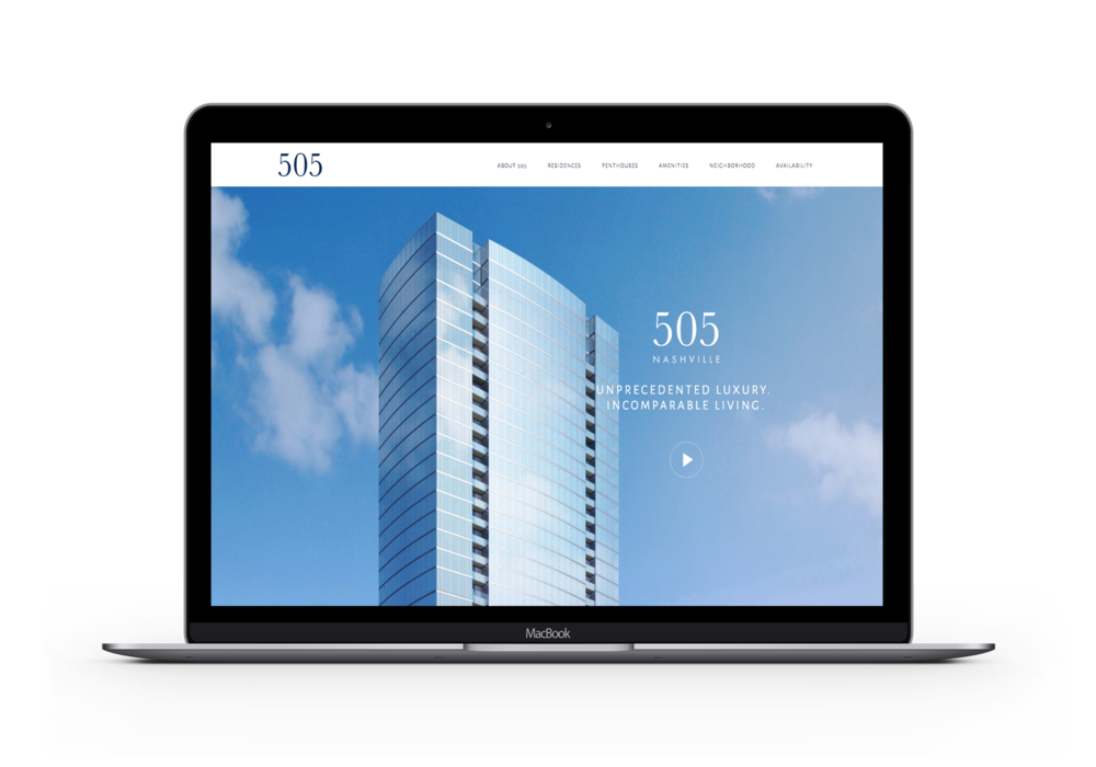 505 Nashville Website | Web Solution by Studio 216