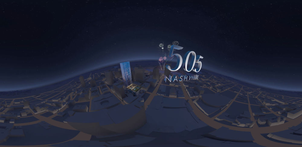 Preview of the 505 Nashville Virtual Tour at the Sudekum Planetarium, Adventure Science Center | Planetarium Virtual Experience by Studio 216