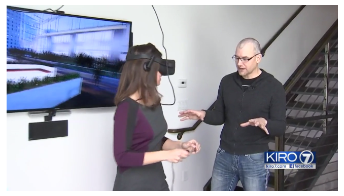 Jamie Fleming and Lizi Sheldon demo the 505 Nashville Condominiums in Oculus Rift.