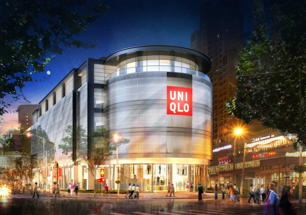 UNIQLO | Shanghai, China  With Bohlin Cywinski Jackson