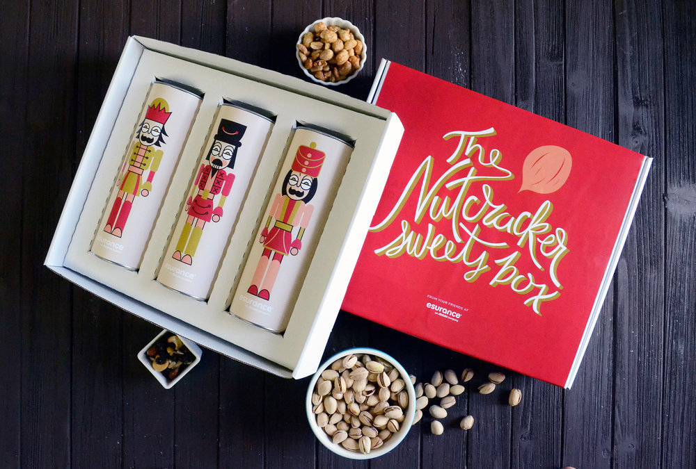 Nutcracker Sweets Box Set - Three 8in Canisters