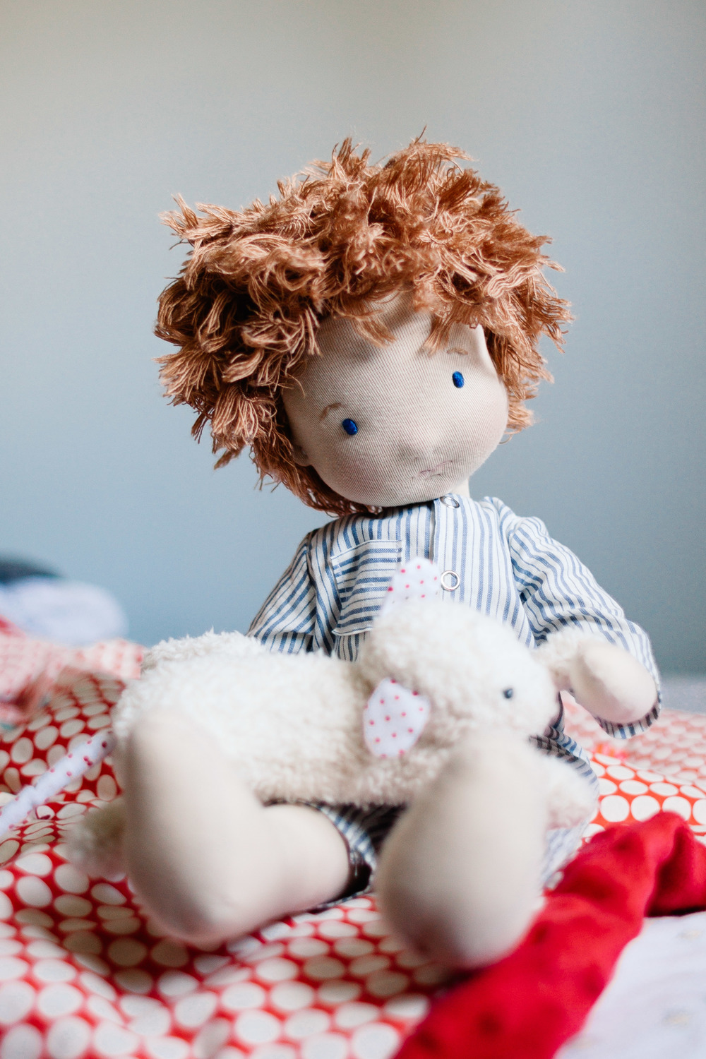 Anacardia Atelier | handmade cloth doll | Jennifer Tippett Photography