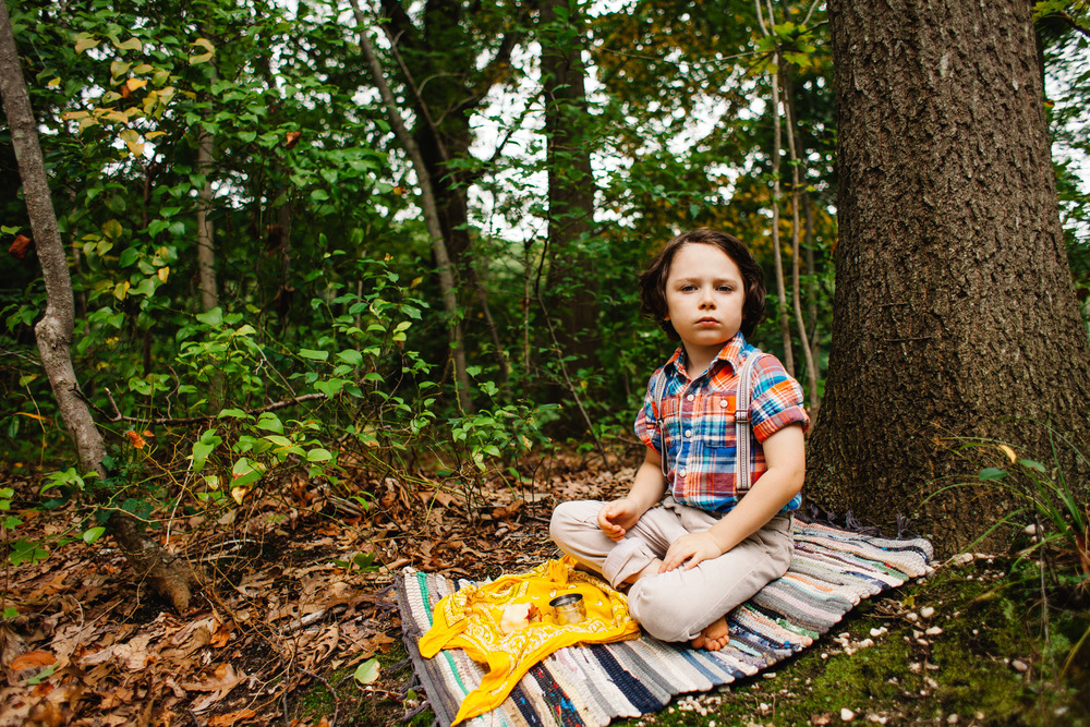 stylized photo session for boy | Jennifer Tippett Photography