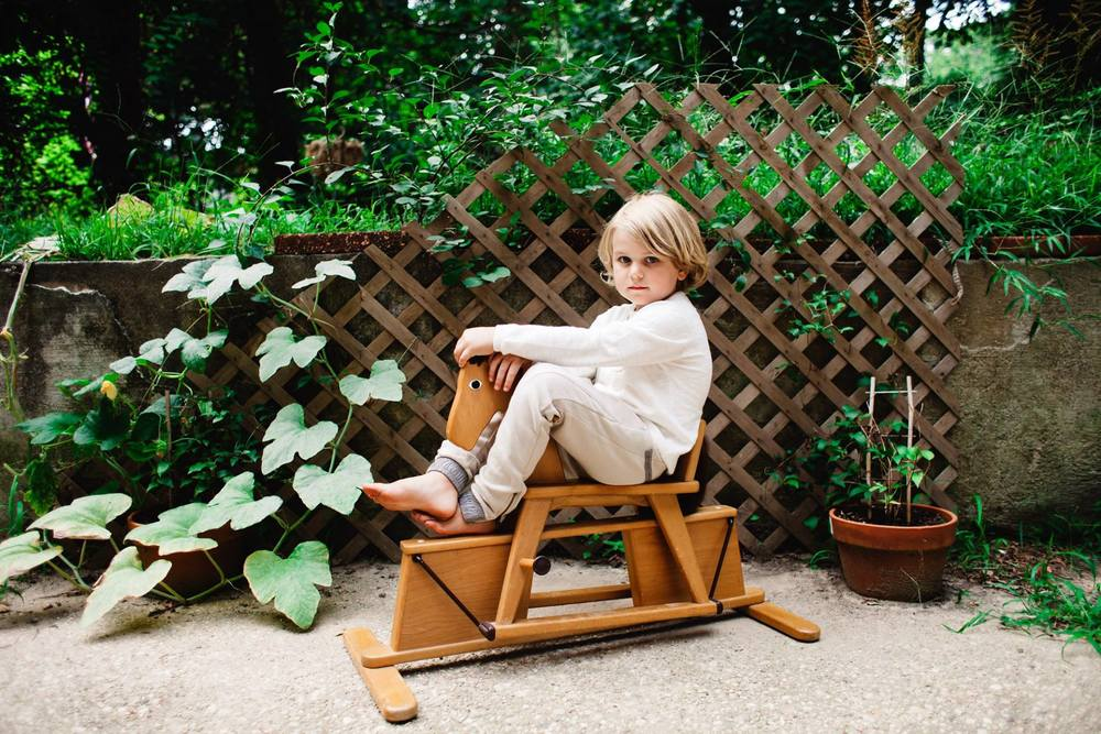 boy on rocking horse | Jennifer Tippett Photography