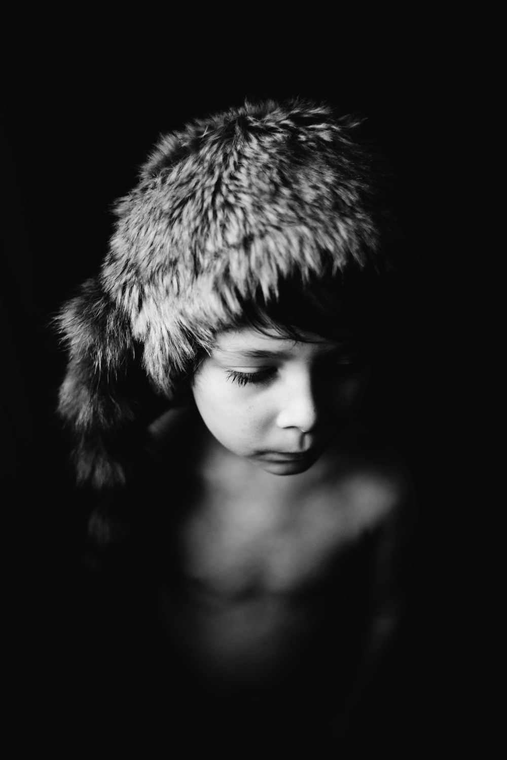 fine art child portrait | Jennifer Tippett Photography | Mozi Magazine selection