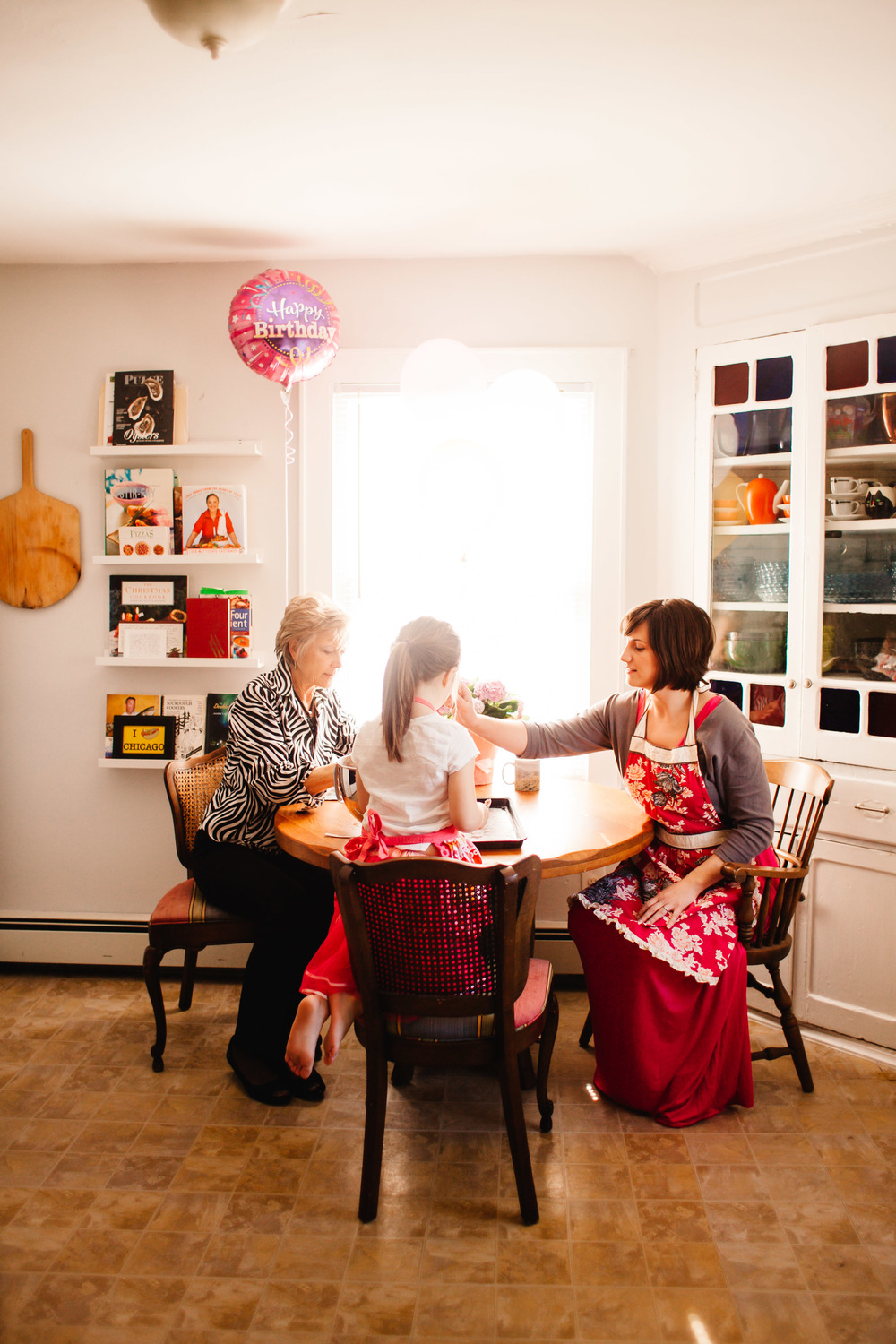 three generations family photo | mother, daughter, grandma | Long Island Photographer