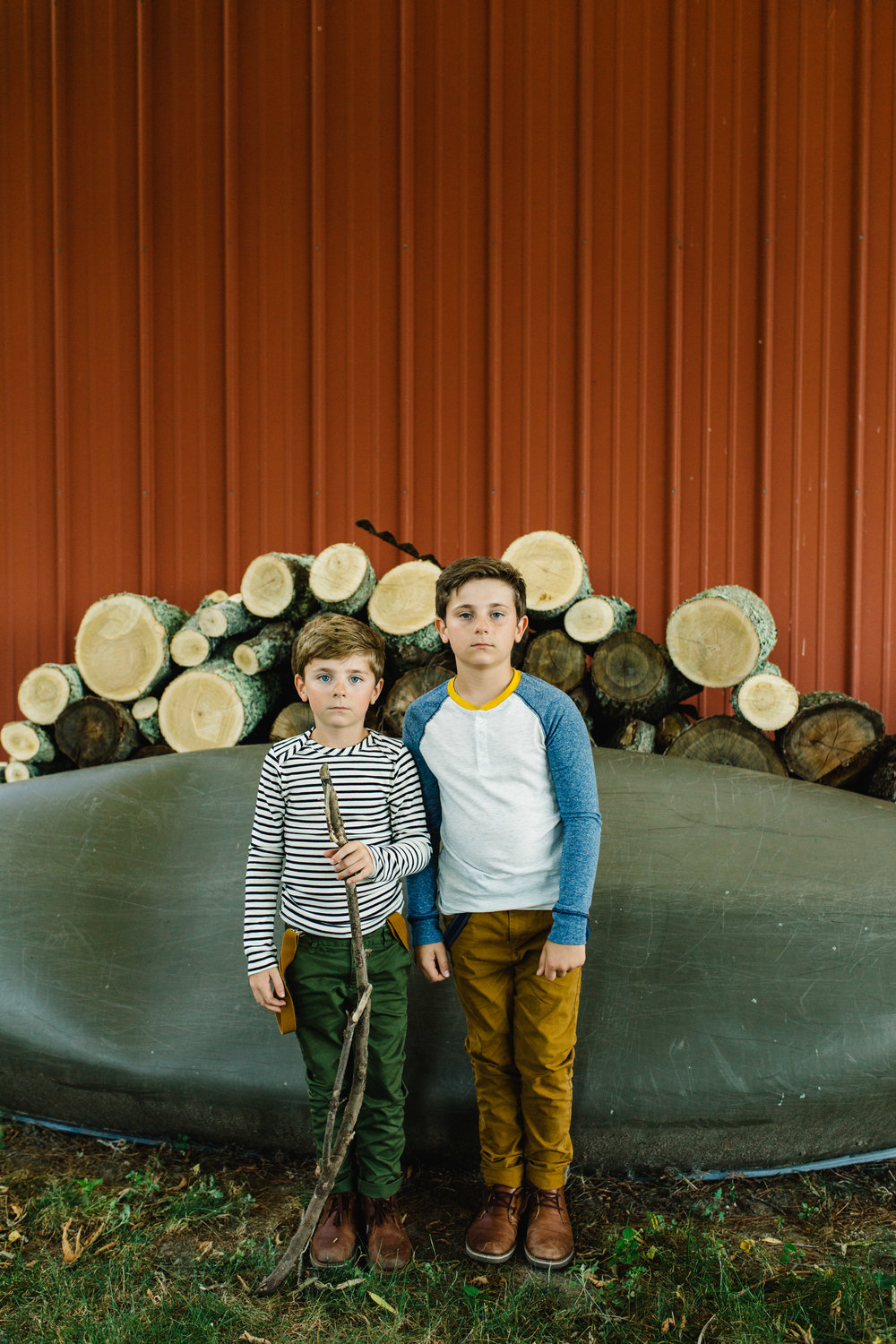 brothers portrait | Jennifer Tippett Photography