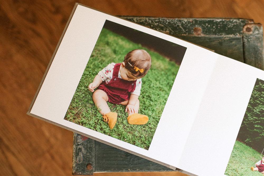 keepsake photo book // custom designed using your favorite images // matte paper