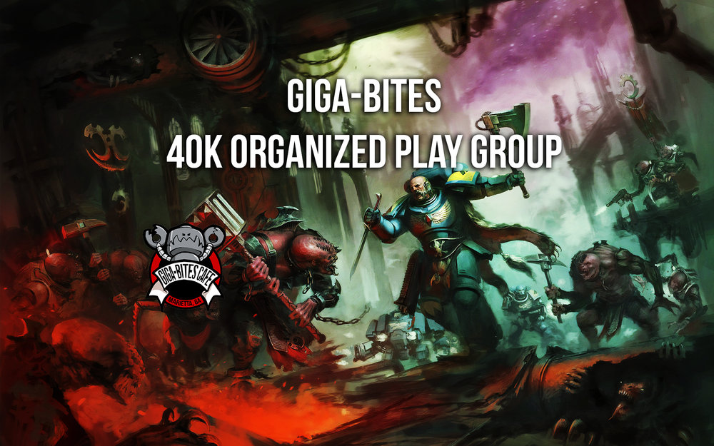 Warhammer 40K Organized Play Group