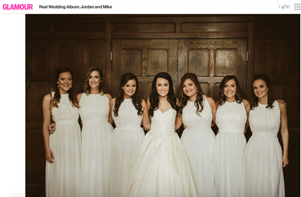 Jordan and her bridesmaids