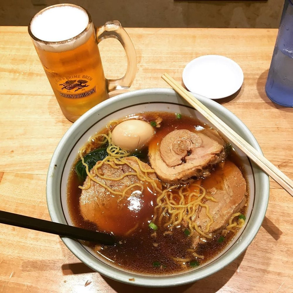 お疲れ様です!!Some ramen at Goma Tei after the @LibraryBards show at @amazingcomiccon Hawaii!!