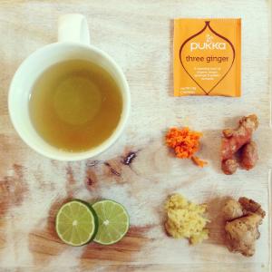stretch and glow yoga tumeric tea