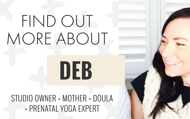 DEB YOUNG PHILLIPS PRENATAL YOGA ONLINE